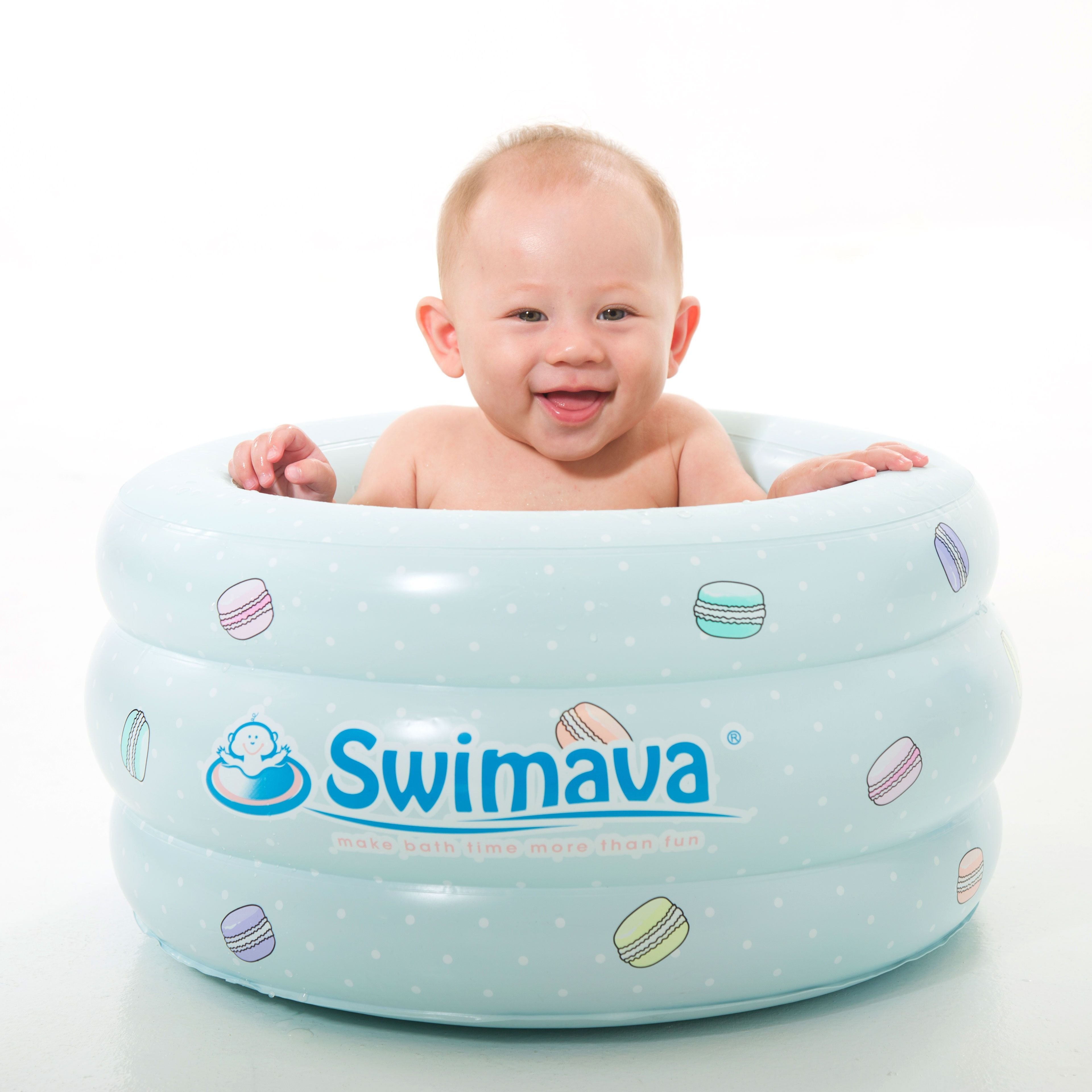 Swimava Baby Bathing Tub | P3 Swimava Le macaron Spa for baby ...