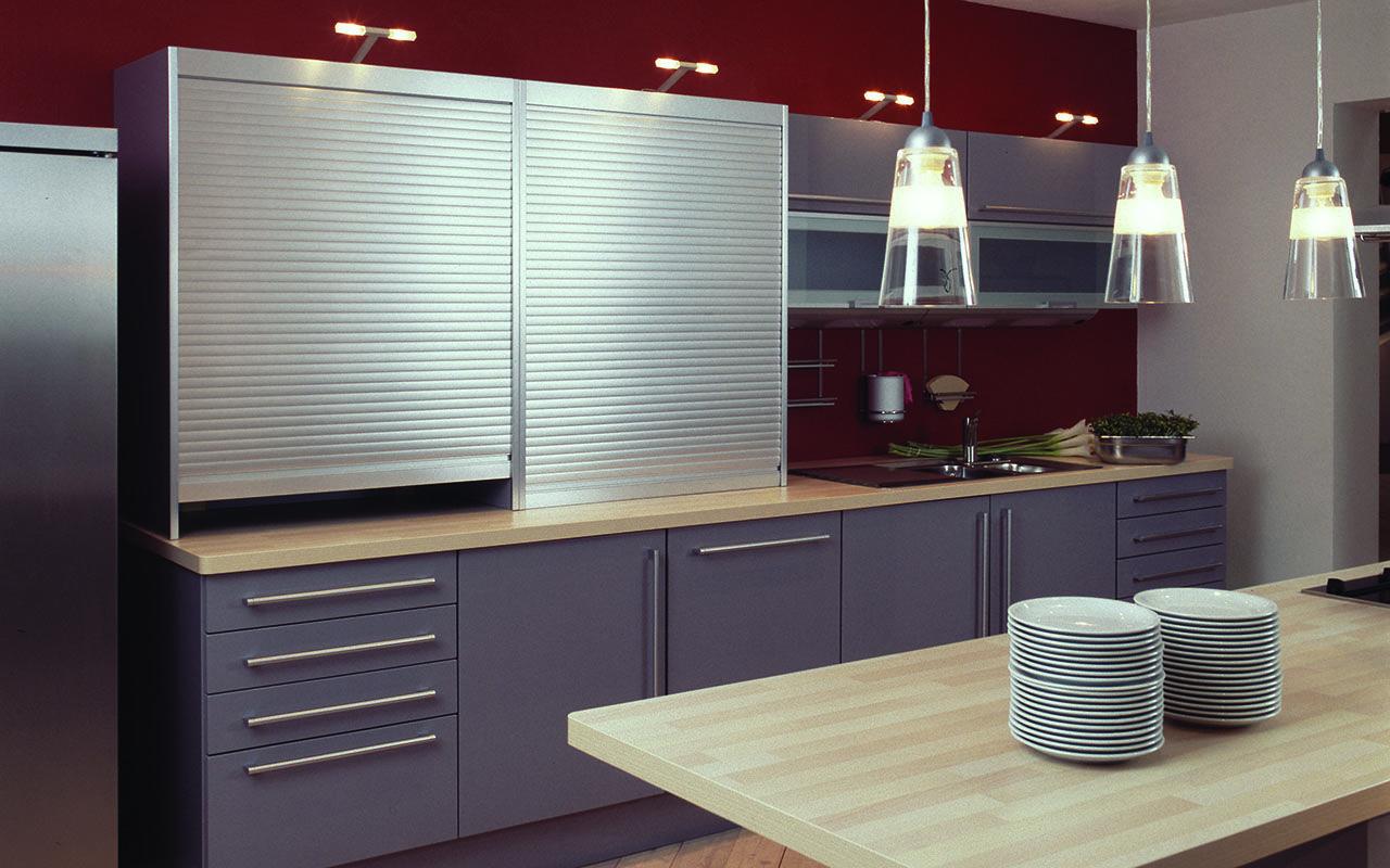 Kitchen Tambour Door Kit Standard Tambour Door Garage Appliance Cabinet Hardware