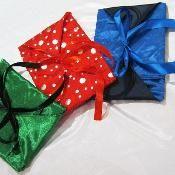 Envelope style fabric gift bag