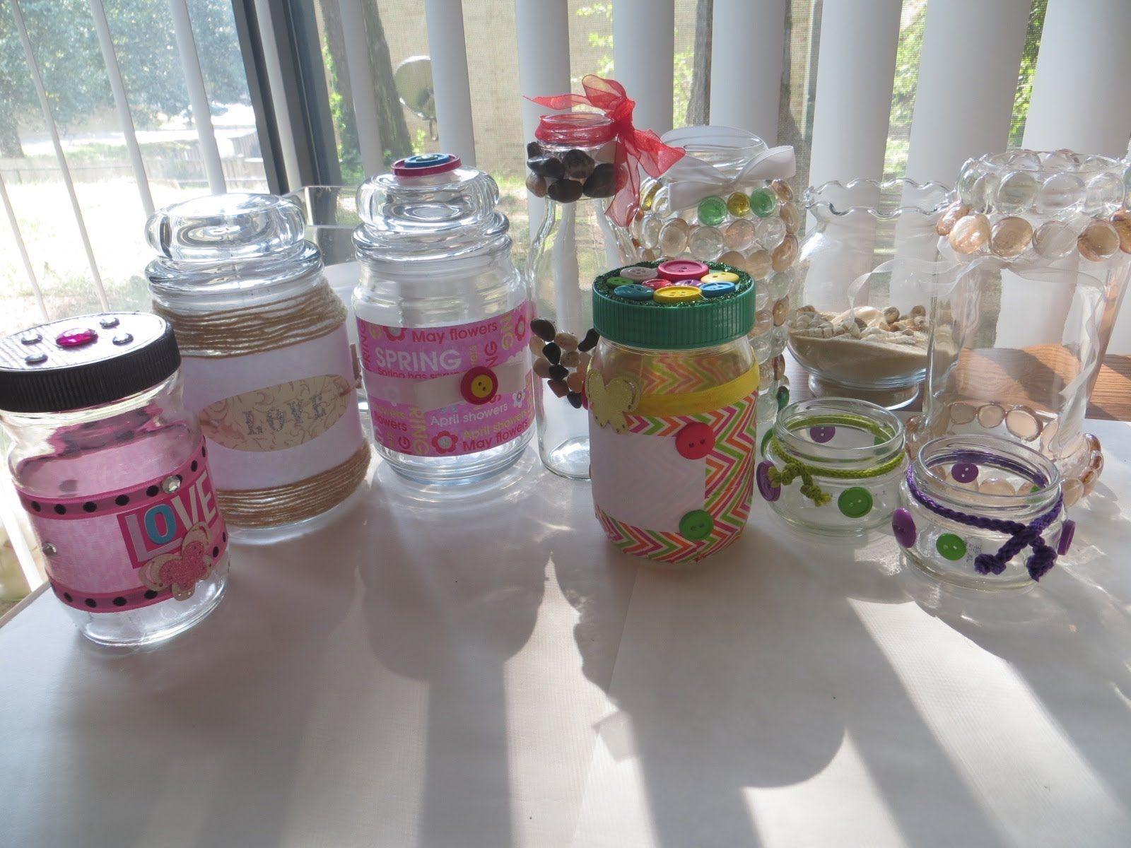 diy ideas para decorar frascos y botellas de vidrio reciclar