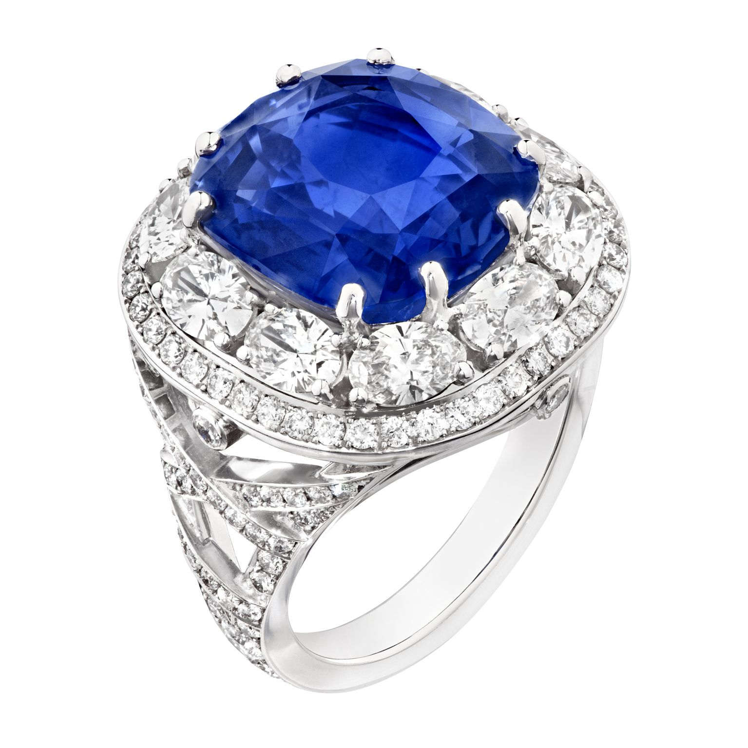 sapphire diamond picture jewelry jewellery en soutou of ring rings genuine gold joud