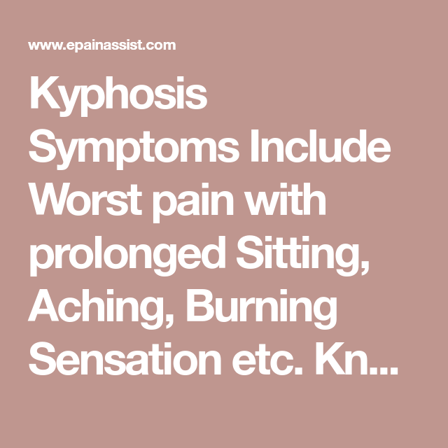 Kyphosis: Treatment, Taping Technique, Causes, Symptoms