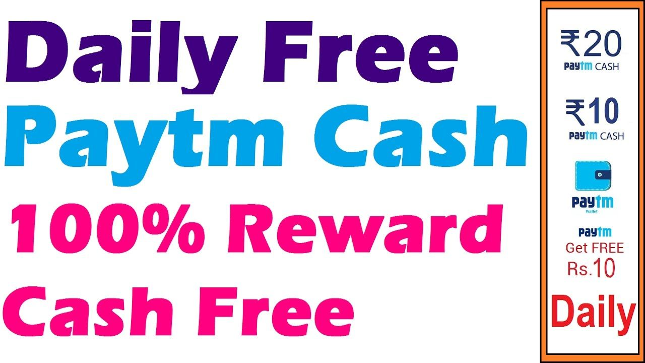 How To Get Free Money In Paytm