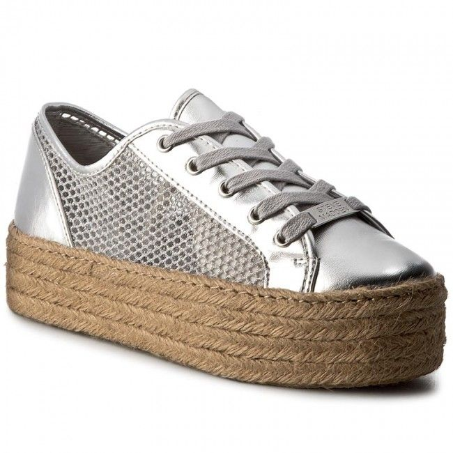 573a89585c7 Espadrilky STEVE MADDEN - Mars Sneaker 91000387-0S0-07004-14001 Silver