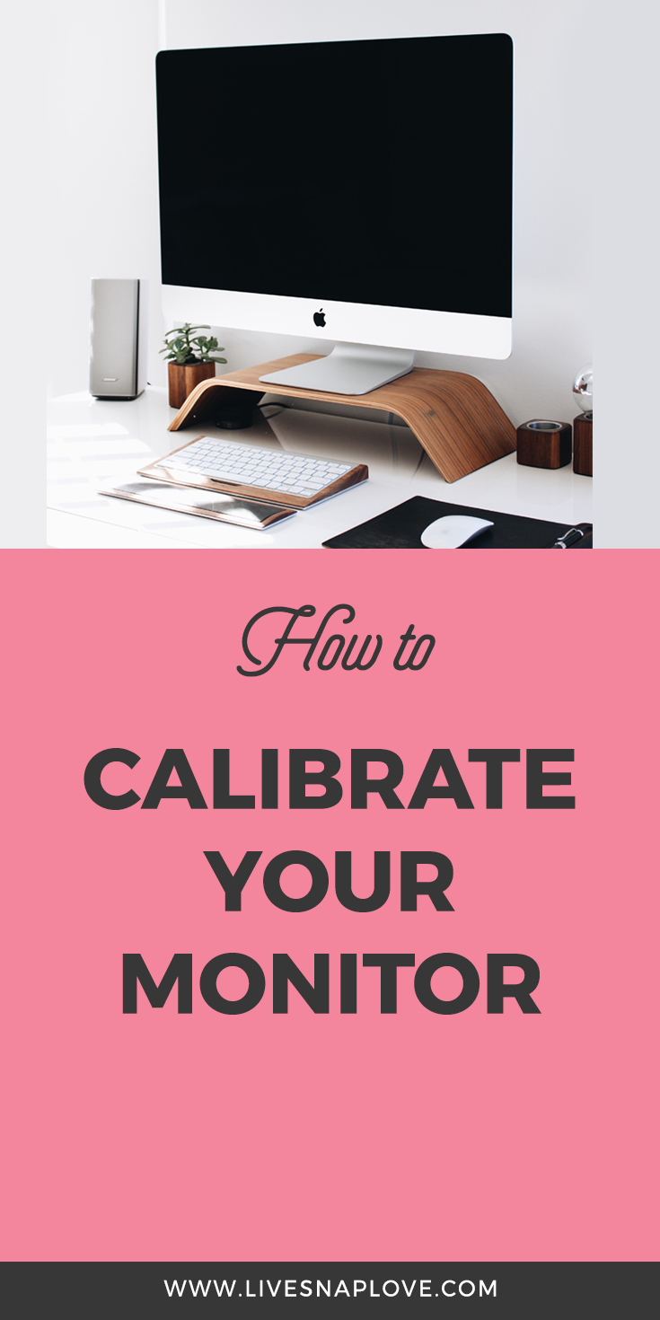 How to calibrate monitor for lightroom