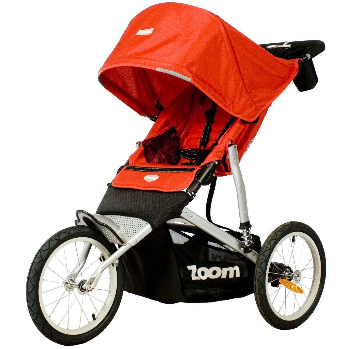 Joovy Zoom Ats Jogging Stroller In Red Baby Strollers Jogging