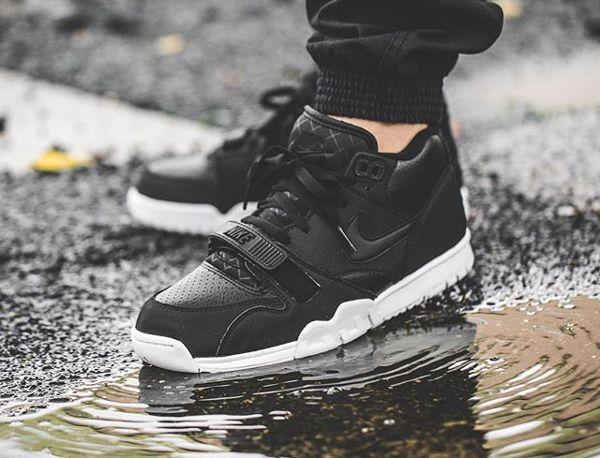 buy low priced shop best sellers Nike Air Trainer 1 Mid Black White | Sneakers en 2019 ...