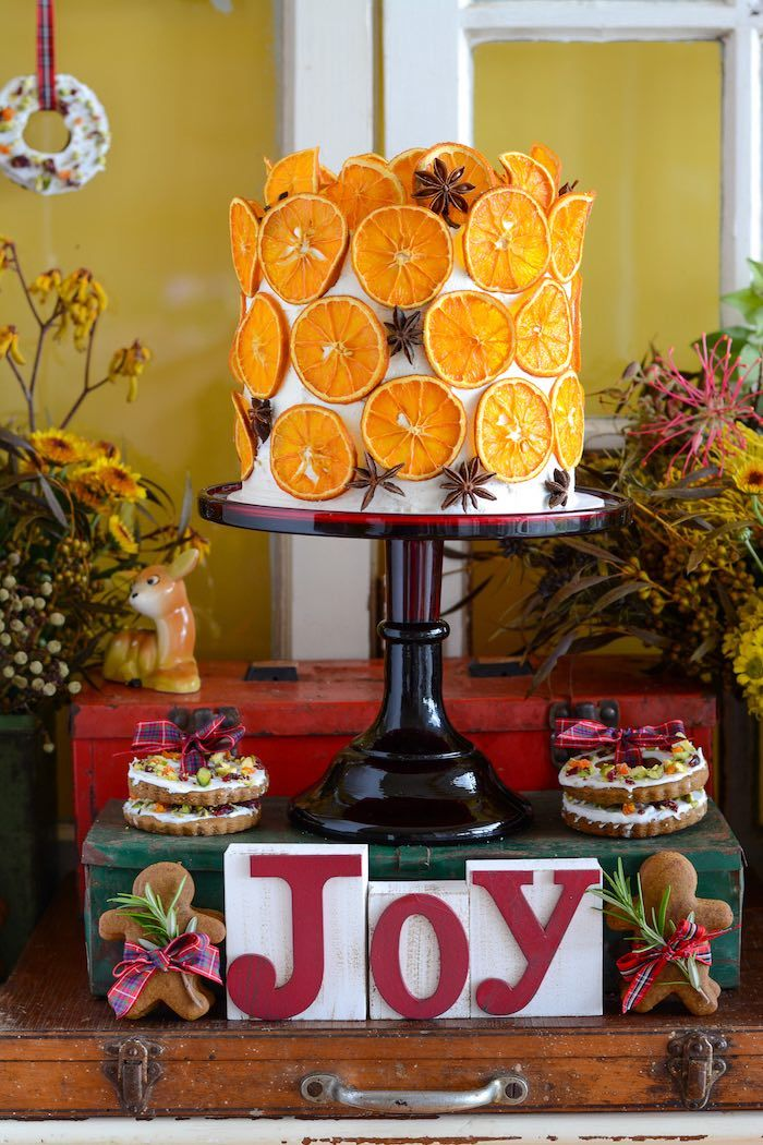 Rustic Australian Christmas Dessert Table (With images