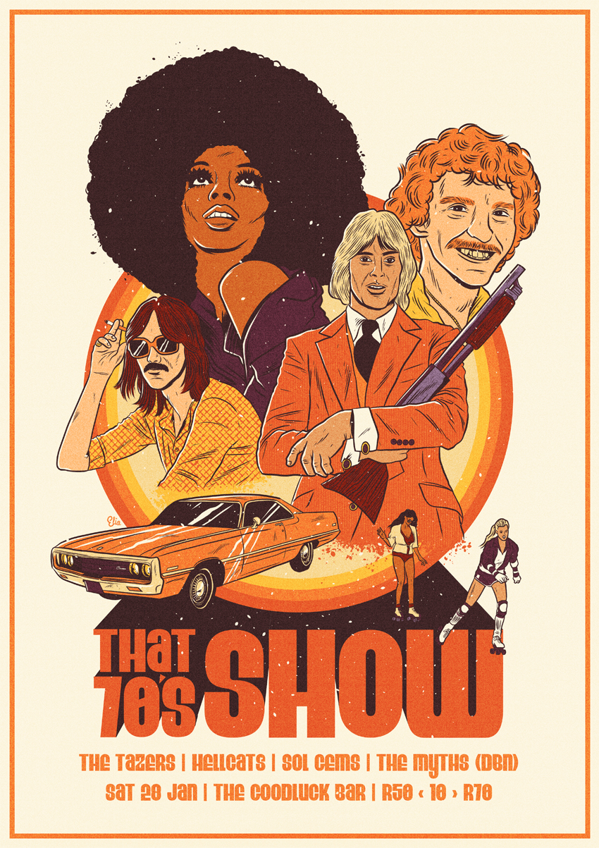 That 70's Show Poster on Behance Movie posters
