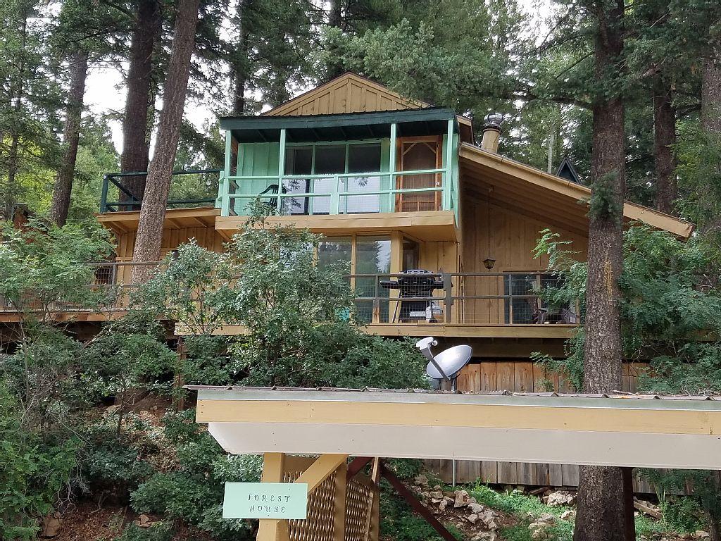 cabin spruce cloudcroft cabins
