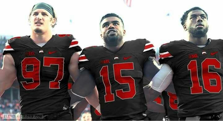 Ohio state football team joey bosa ezekiel zeke