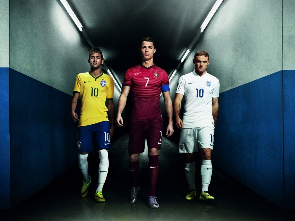 Neymar, Ronaldo, and Rooney - Nike wallpaper - Cristiano Ronaldo