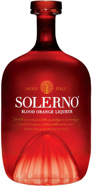 Solerno Blood Orange Liqueur Comes In A Bottle With A Punt
