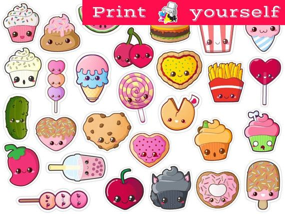Set #176. Mockup printable Tumblr Stickers, Stickers, Set of stickers. Decals. Instant Download PDF