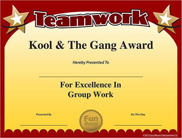 Free Certificate Elementary my Dear Watson! Fun awards, Employee