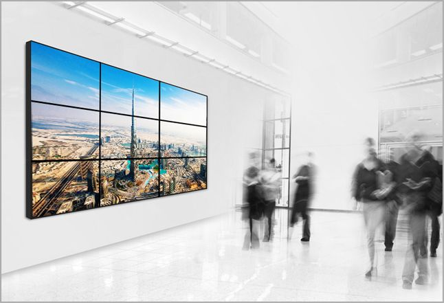 Digital Signage And Video Wall Solutions Dubai Audio Video Wall