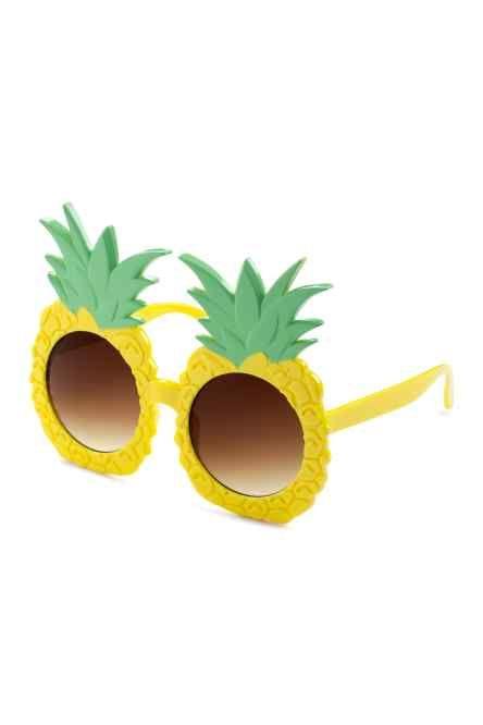 lunettes de soleil h m fun yellow lens sunglasses. Black Bedroom Furniture Sets. Home Design Ideas