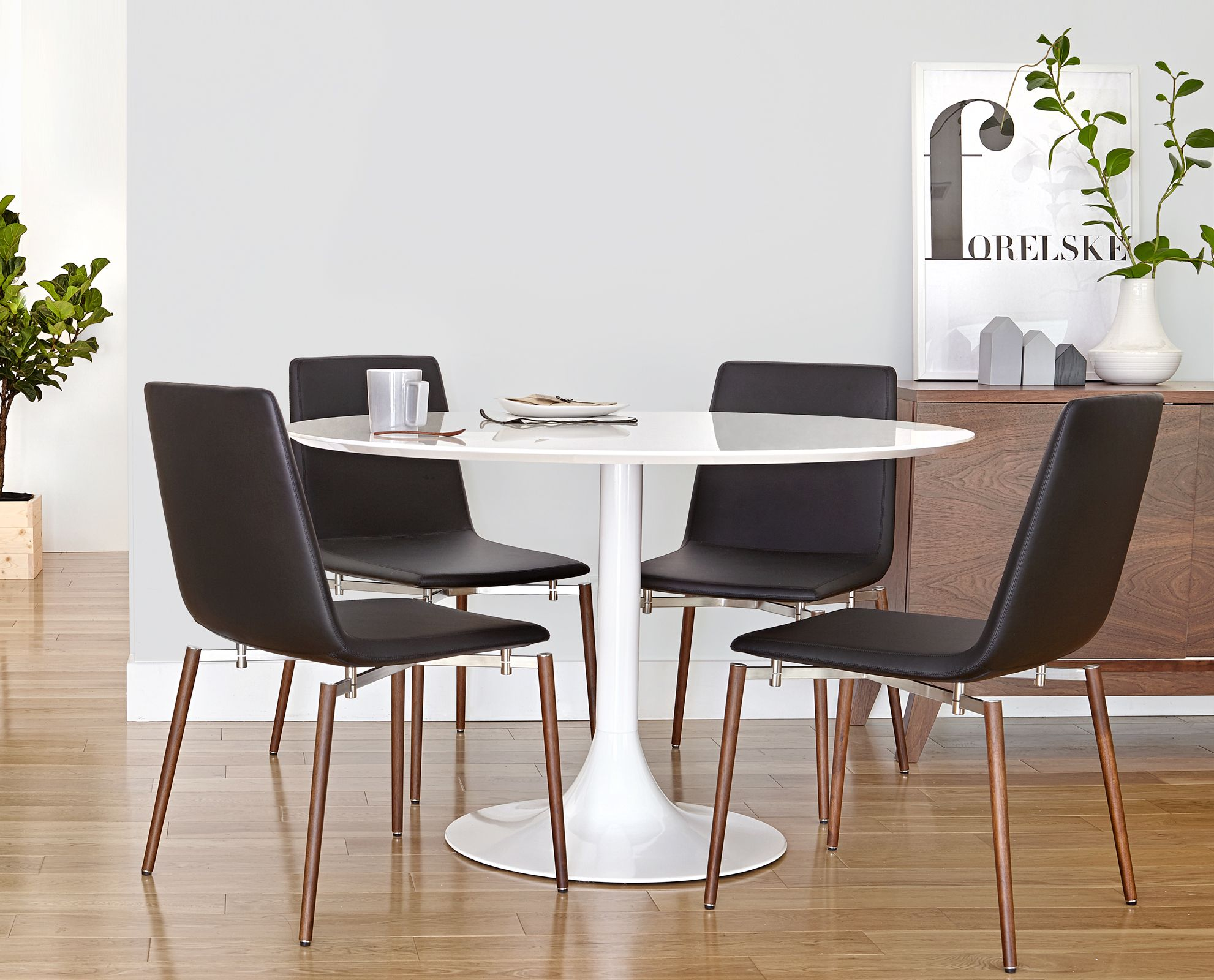 Corona dining table and neura chair from dania