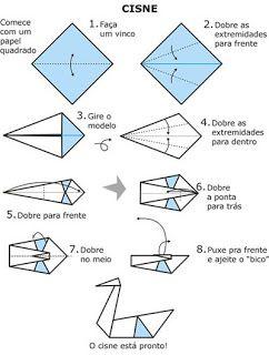 origami cisne