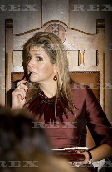 Queen Maxima attends business in fragile States conference, Amsterdam, The Netherlands - 11 Nov 2015 Amsterdam Queen Maxima at the opening of the Conference Doing Business in fragile states in the Beurs van Berlage in Amsterdam. 11 Nov 2015