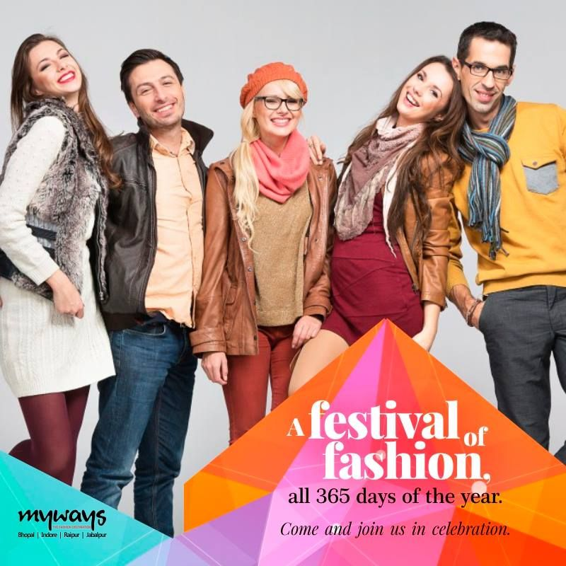 A #Festival of #Fashion, a festival of #Style, a festival of top notch #Brands is ever on at Myways Store. Come and indulge. #MywaysCraze #FashionAndStyle #StyleInspiration #GlamourShots #Glamorous #FashionLover