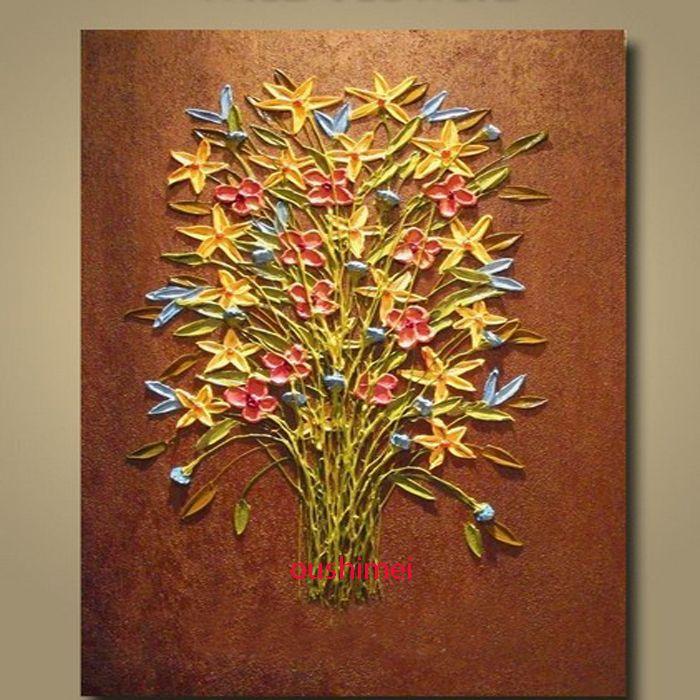 100 el boya modern yalboya palet bak dokulu boyama tuval duvar