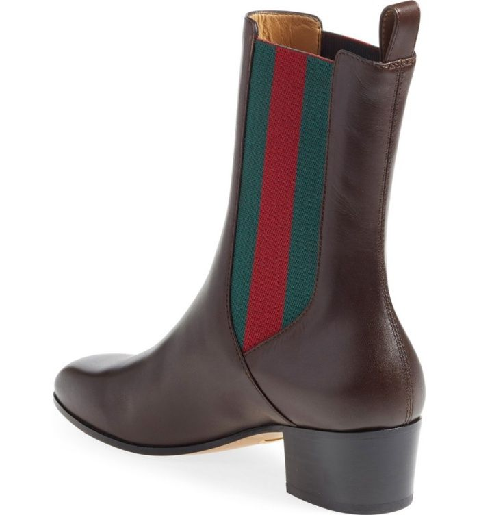 """4db0b00a1 Gucci """"Karen"""" Slip-On Booties 
