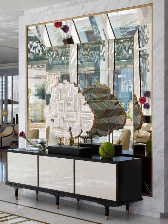 Foyer Decor Abu Dhabi : Four seasons hotel abu dhabi by david t kint s hba