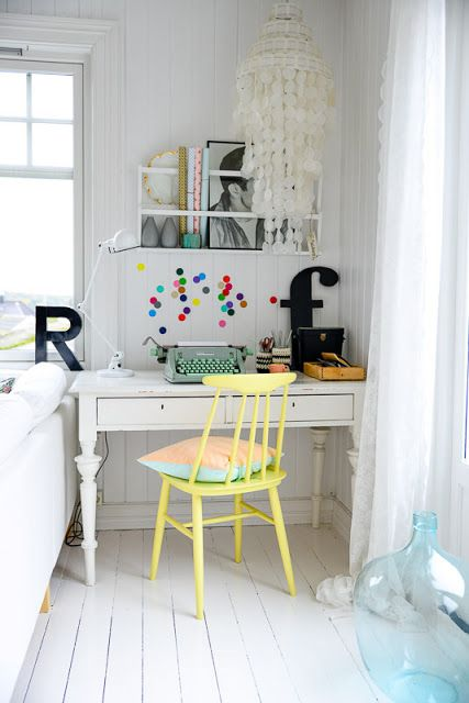 Un beau bureau Dcouvrez la maison Fjeldborg sur mon blog La