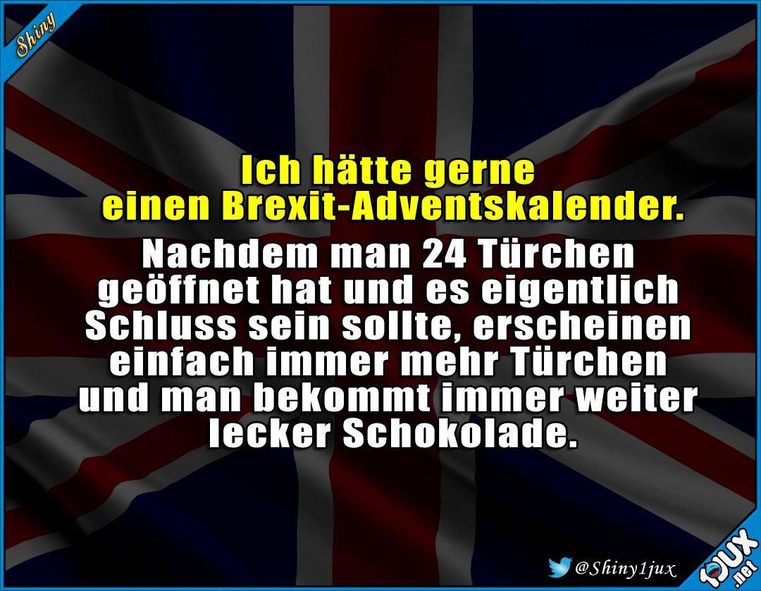 Ein nie endender Brexit-Adventskalender   #1adventbilder