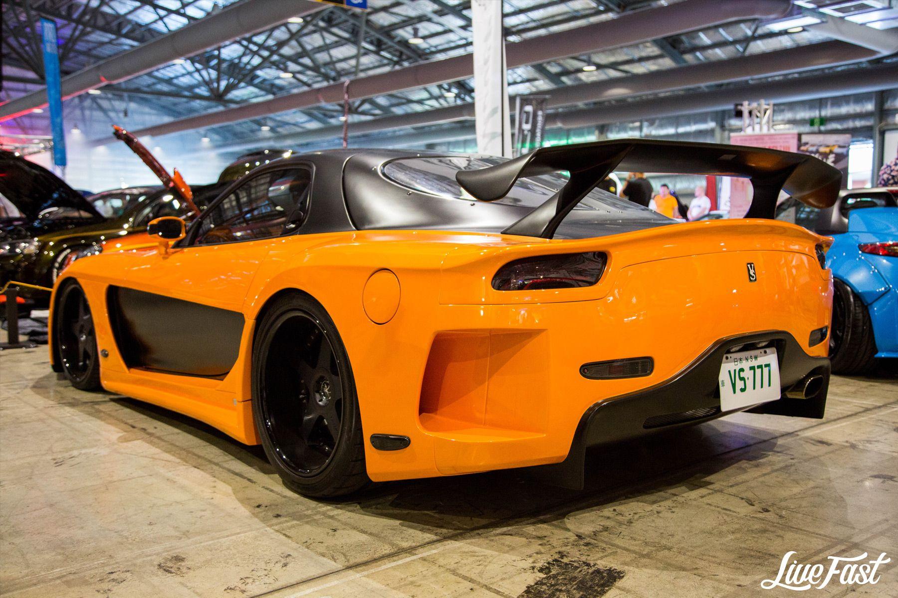 Mazda Rx7 2017 >> Mazda Rx7 At Hot Import Nights 2017 Wankel Rotary Engines