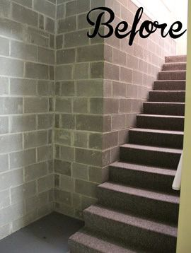 Update A Basement Staircase With Paint Basement Stairs Stair Makeover Basement Staircase