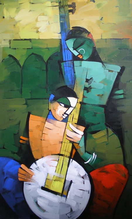 7cc171e2b Deepa Vedpathak Indian Contemporary Art, Contemporary Paintings, Krishna Art,  Arabic Art, Indian