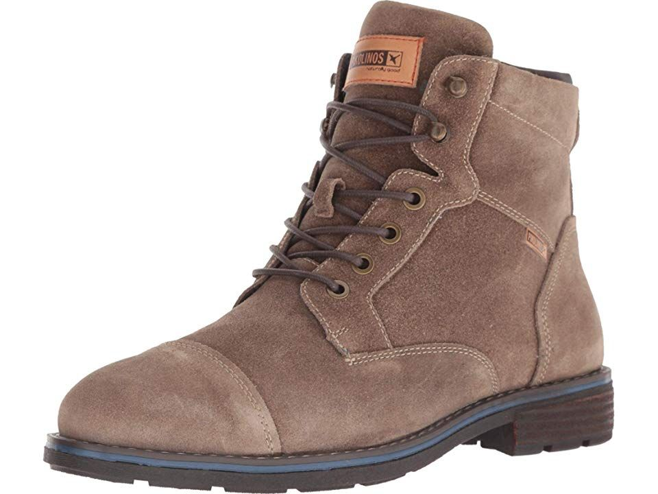 771dc29833224 Pikolinos York 8170SO Men's Shoes Taupe | Products | Shoes, Combat ...