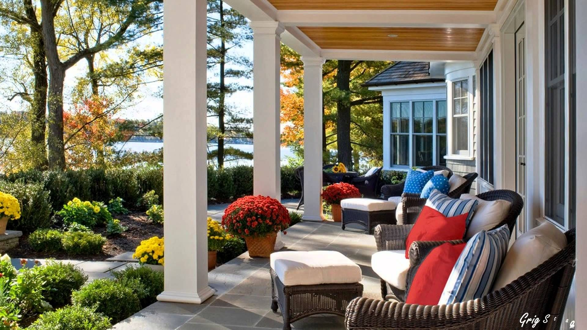 Backyard porch ideas dreamy back porch ideas traditional rear