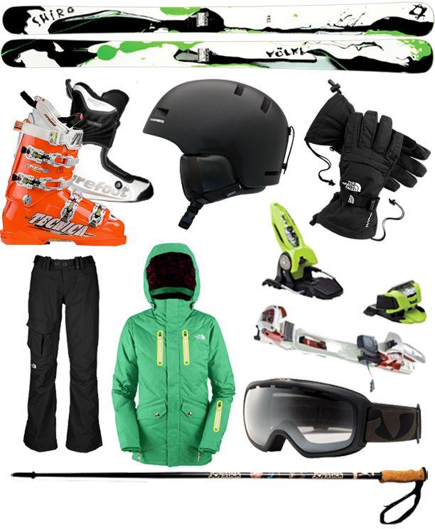 Pro Kits: Ingrid Backstrom's Shred Gear. Volkl Shiro Skis