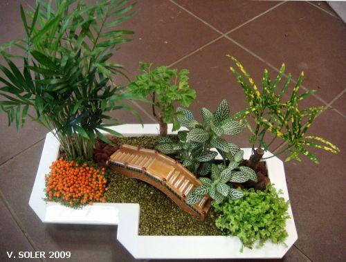 rsultat de recherche dimages pour art floral mini jardin - Creer Un Jardin Japonais Miniature