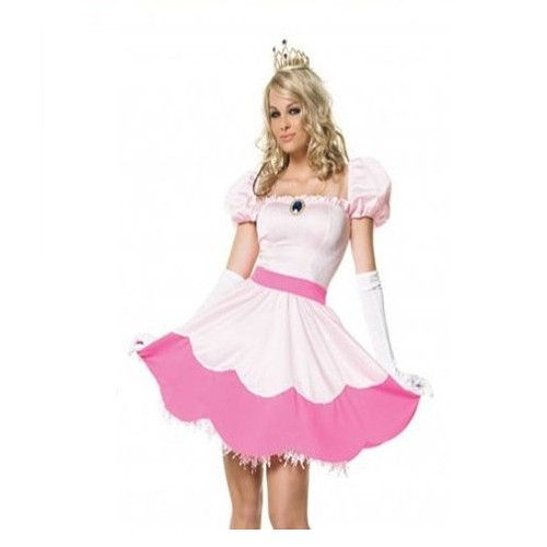 Sweet Pink Snow White Adult Costume