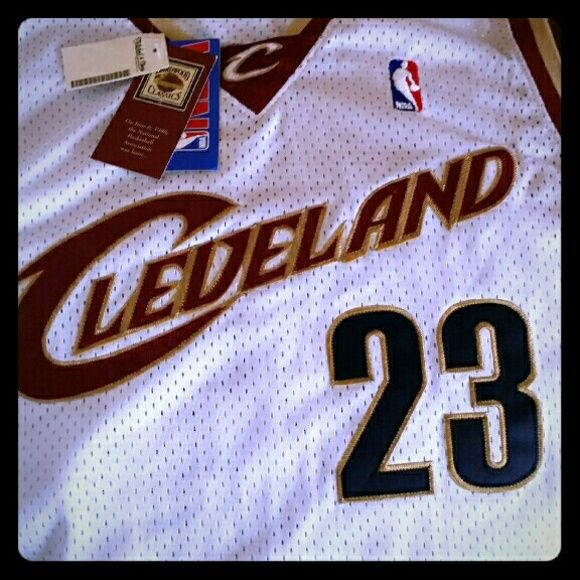 purchase cheap afcde 4fd06 LeBron James Hardwood Classic Jersey Brand new 100 ...