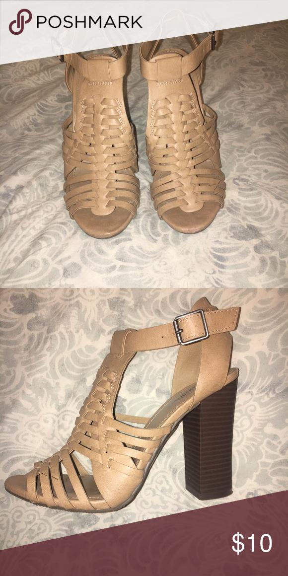 0235af8bdf18 Merona sandal heels Very gently used