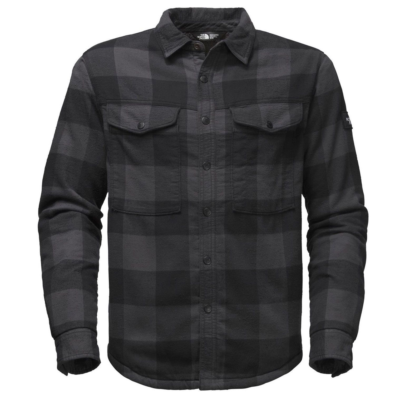 Other Winter Sport Clothing 16060: The North Face Mens 2018 Hike-In Sherpa Shirt Asphalt Grey Plaid -> BUY IT NOW ONLY: $98.99 on eBay!
