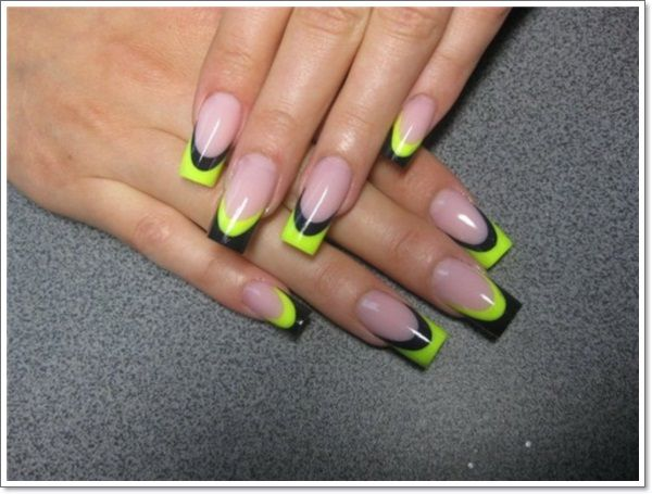 - French Tip Nails