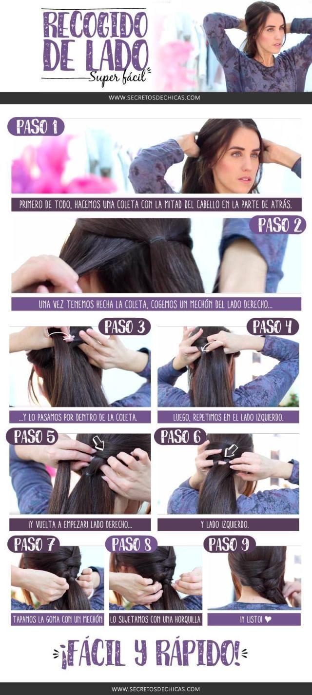 Peinados trenzas recogido de lado y más arreglos para tu cabello