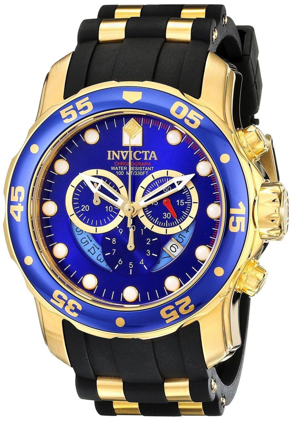 57e3b81611d Relógio Invicta Relógios 6983 Pro Diver 48 mm Cronógrafo Azul ...