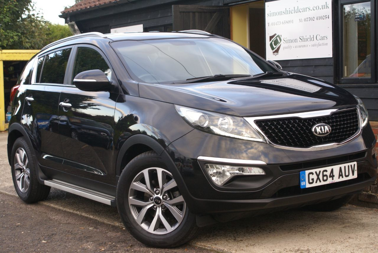 2014 (64) Kia Sportage 1.7 crdi black edition with