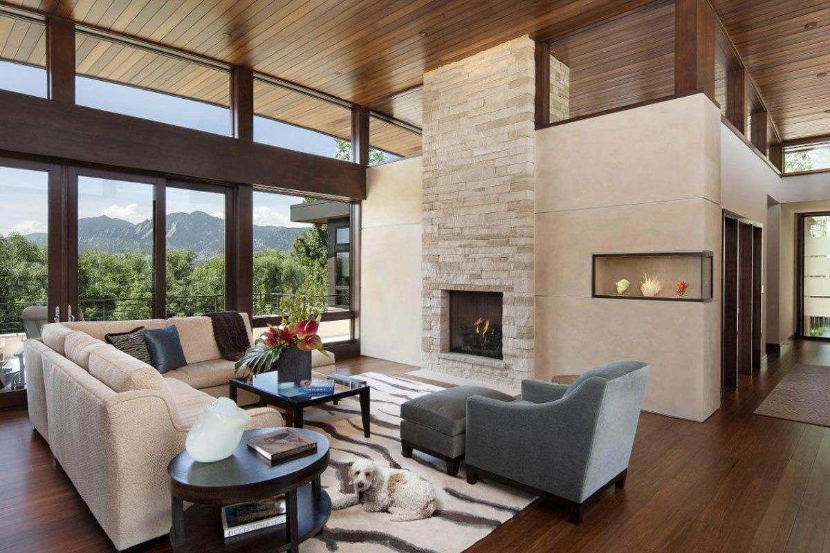 Contemporary homes : Open Air Living Room : Mosaic Architects ...