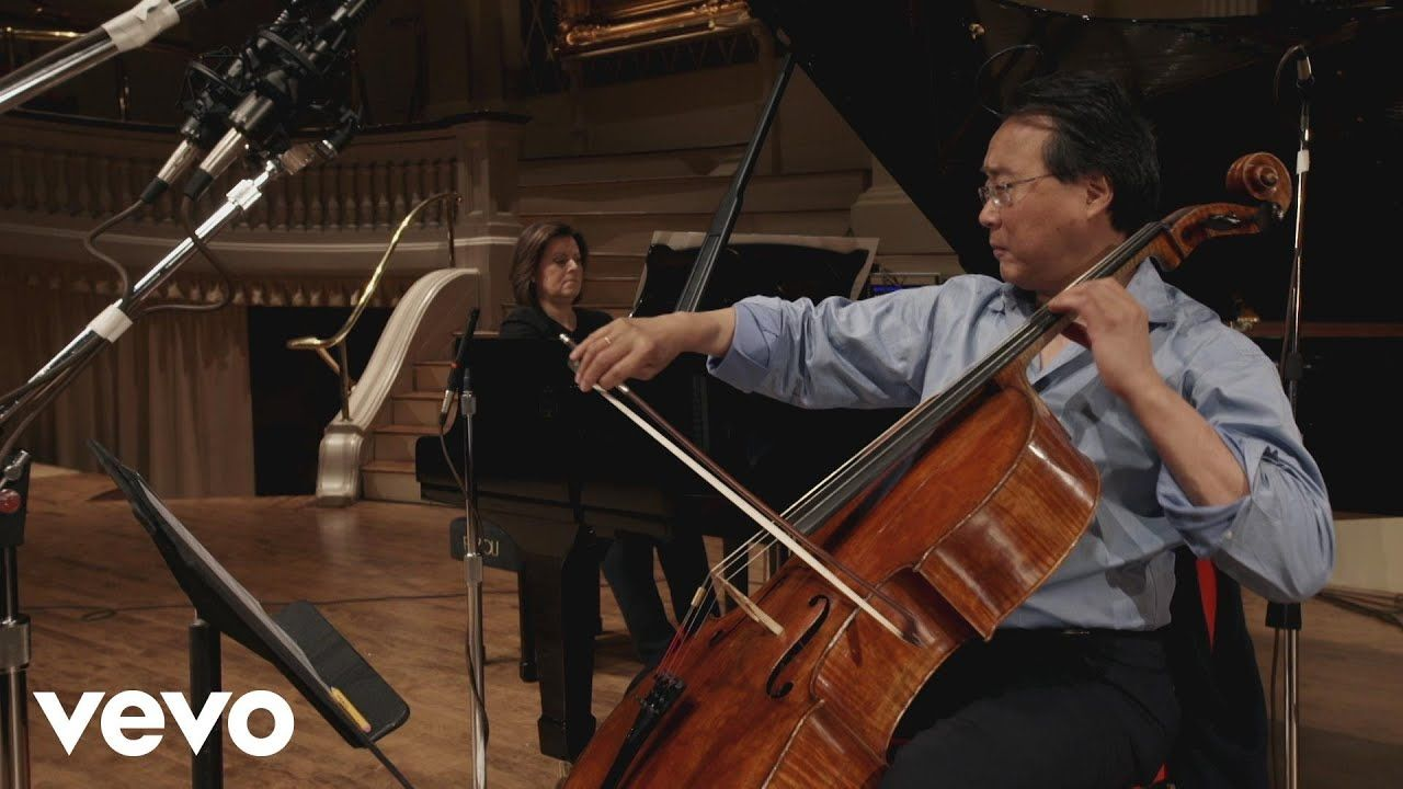 YoYo Ma, Kathryn Stott The Swan (SaintSaëns) YouTube