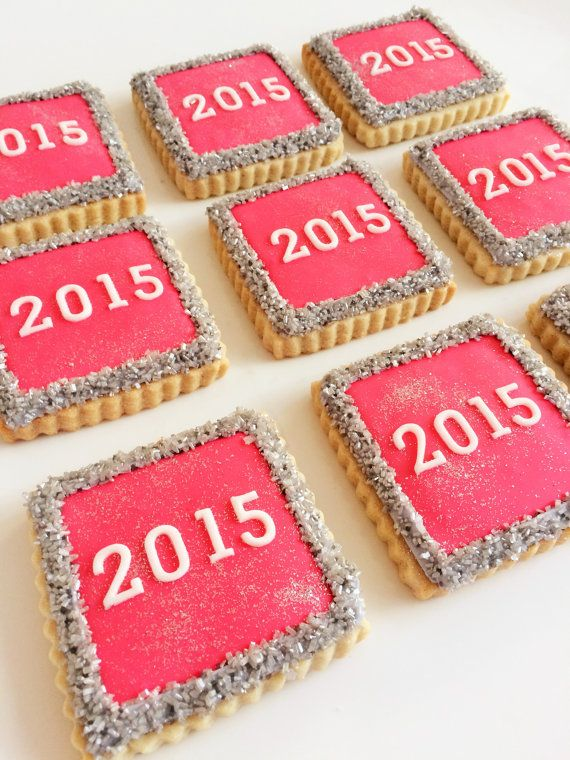 | New Year's Eve Cookies 1 dozen by SunshineBakes | | New ...