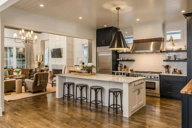 Open Kitchen Floorplan Open Kitchen Floorplan Ideas Open Kitchen Floorplan Open Mod Open Kitchen And Living Room Interior Design Kitchen Kitchen Design Open