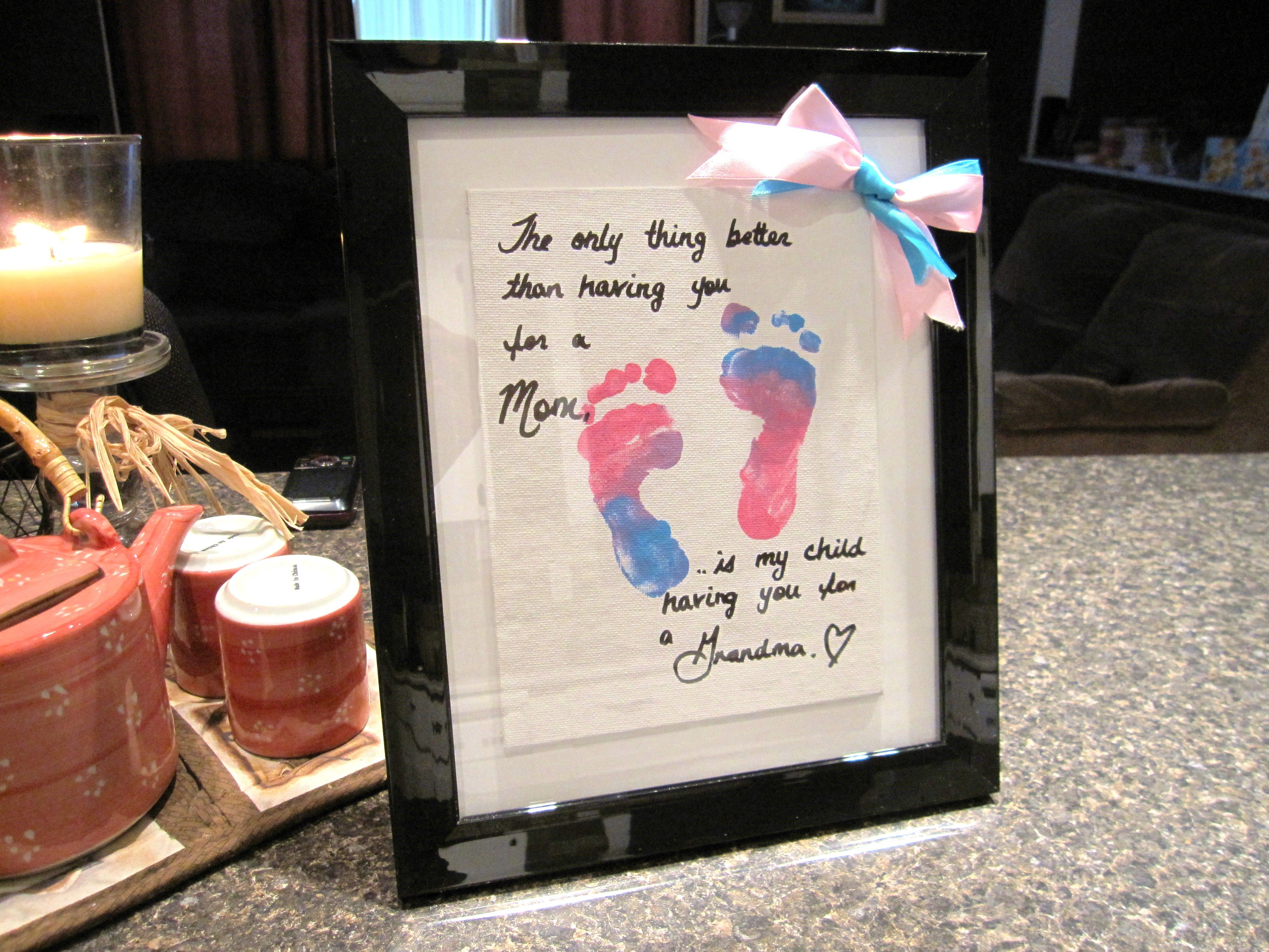 I made this for my mother for her birthday grandma gift gift another gift idea for grandparents negle Image collections
